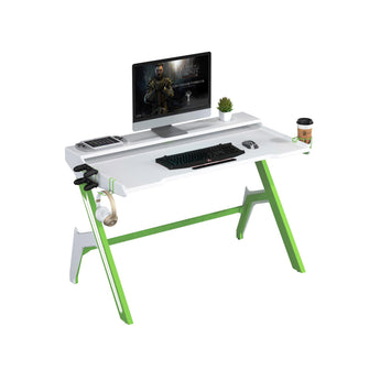 GAMING/COMPUTER DESK W/ MONITOR SHELF