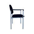 NEST CUSHIONED STACKING GUEST CHAIR WITH ARMS