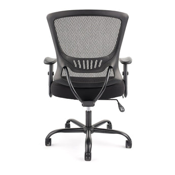 GRANDE  350LBS-CAPACITY TASK CHAIR W/ ADJUSTABLE LUMBAR SUPPORT