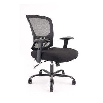 GRANDE  350LBS-CAPACITY TASK CHAIR W/ LUMBAR SUPPORT