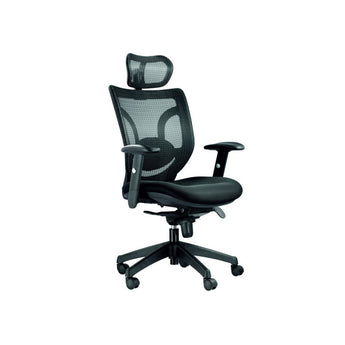 MEGA ERGONOMIC EXECUTIVE CHAIR W/ ADJUSTABLE LUMBAR SUPPORT