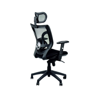 MEGA ERGONOMIC GAMING CHAIR W/ ADJUSTABLE LUMBAR SUPPORT