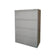 GLOBAL 4-DRAWER FIXED FRONT METAL LATERAL FILE