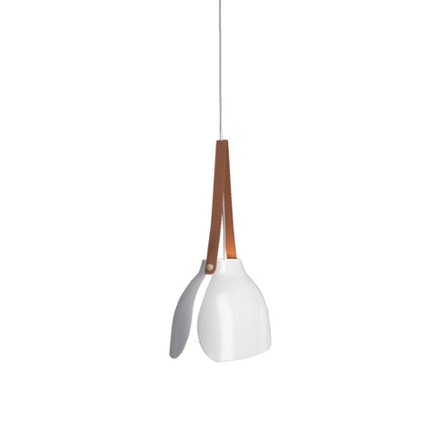 Leather Straps Ceiling Lamp