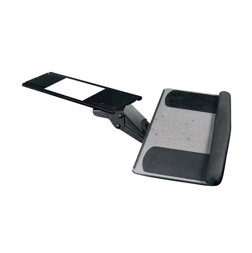 ELEMENT FULL MOTION ERGONOMIC KEYBOARD TRAY WITH MOUSE PAD