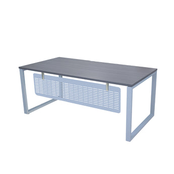 MSET- MATRIX EXECUTIVE WORKSTATION WITH FLAT METAL MODESTY