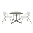 MTX-TSF-0508B-WHT - 30X30 WHITE TOP & FRAME TABLE-MATRIX-OFXoffice