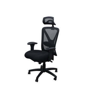 ORION ERGONOMIC EXECUTIVE CHAIR W/ ADJUSTABLE LUMBAR SUPPORT