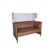 CONCERTO LOUNGE 2-SEATER SOFA WITH HIGH-TRAFFIC PU UPHOLSTERY