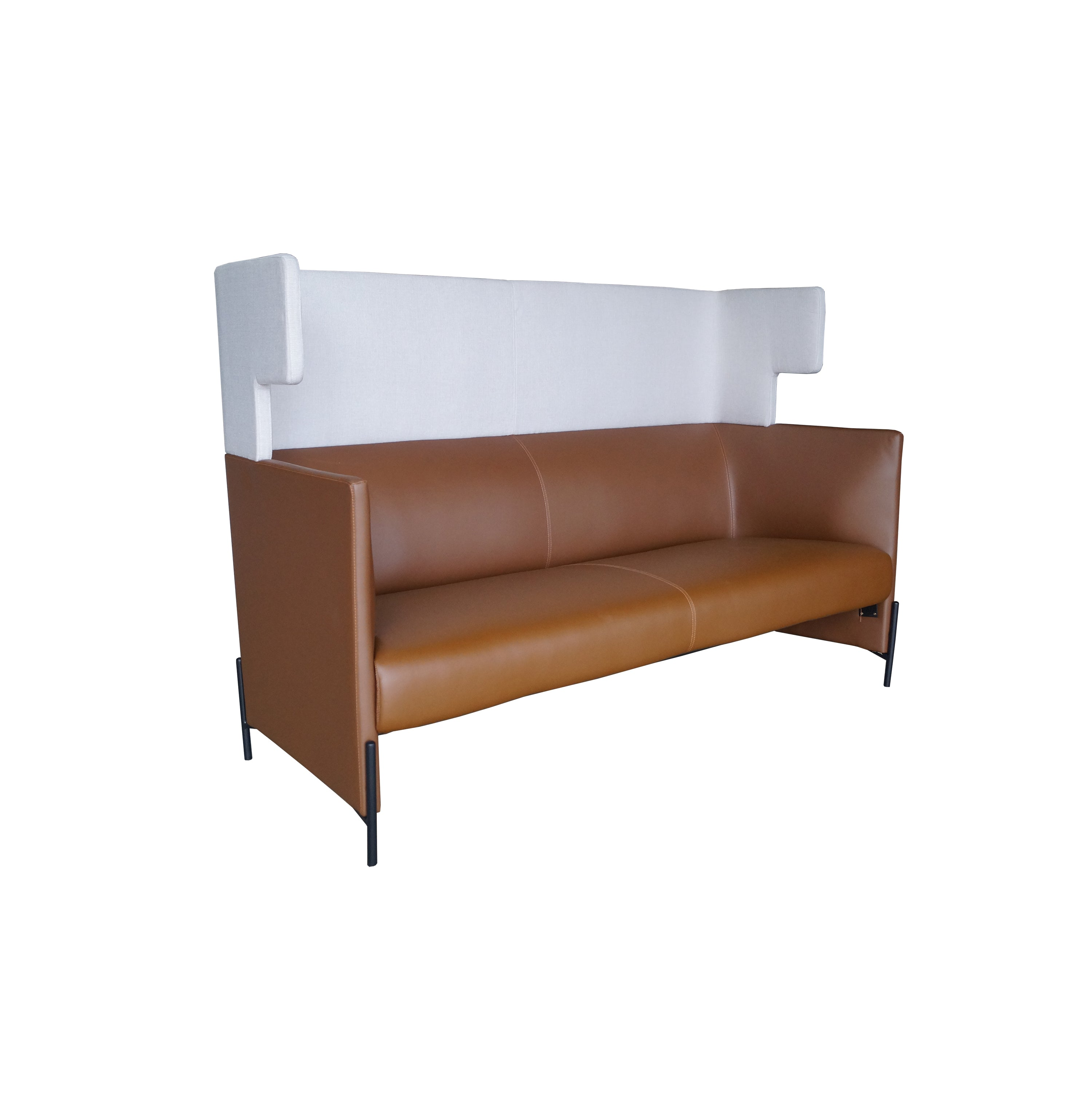 PAICONCERTO THREESEATER HIGH BACK SOFA OFX office