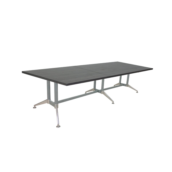 "QUANTUM RECTANGULAR 120"" OR 144"" STEEL FRAME BASE CONFERENCE TABLE"