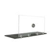 "FRONTLINE20 COUNTERTOP 24"" INVISIBLE BARRIER WITH ALUMINUM SPEAK THRU"