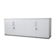 "HINGED-DOOR CREDENZA 71"" X 18"" WITH LOCKS"