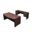 VERSA EXECUTIVE BOW SHAPE DESK