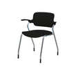 RIO MODERN STACKING CHAIR WITH PIVOTING BACKREST & ARMRESTS