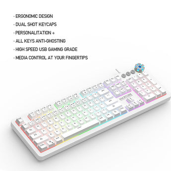 FANTECH MK852 MECHANICAL KEYBOARD - SPACE EDITION