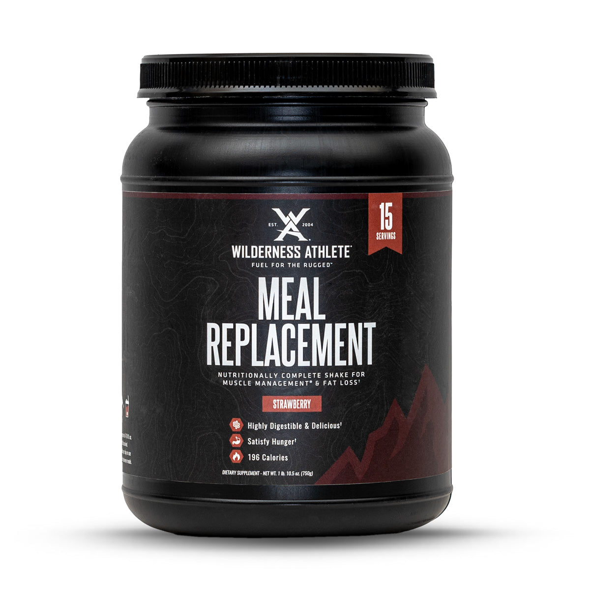 Meal Replacement Shake - Wilderness Athlete