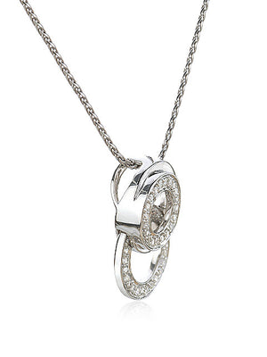 Circle Diamond Pendant - Isaac Westman - 2