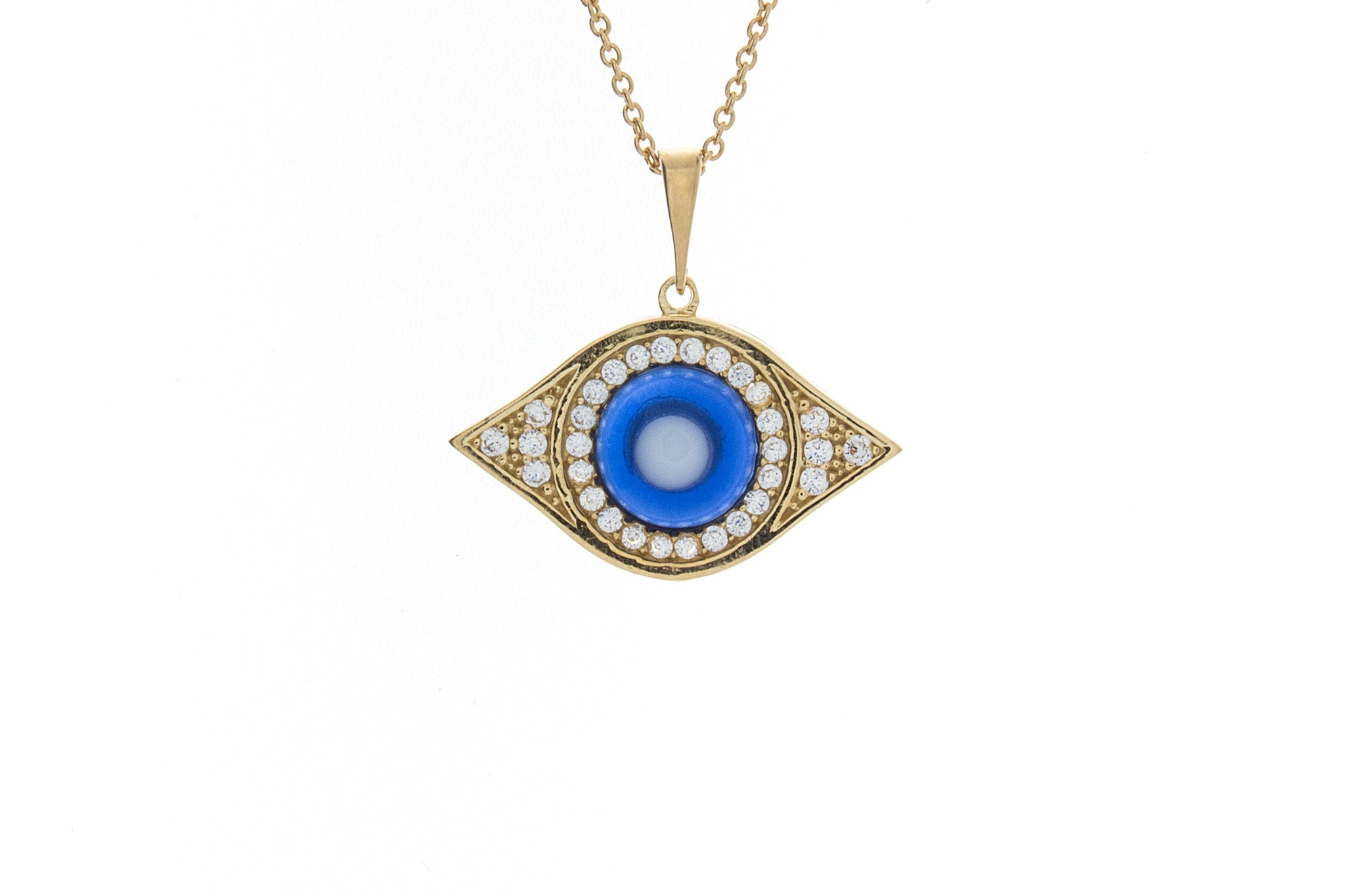 moore products pendant diamond black evil necklace white elizabeth eye and