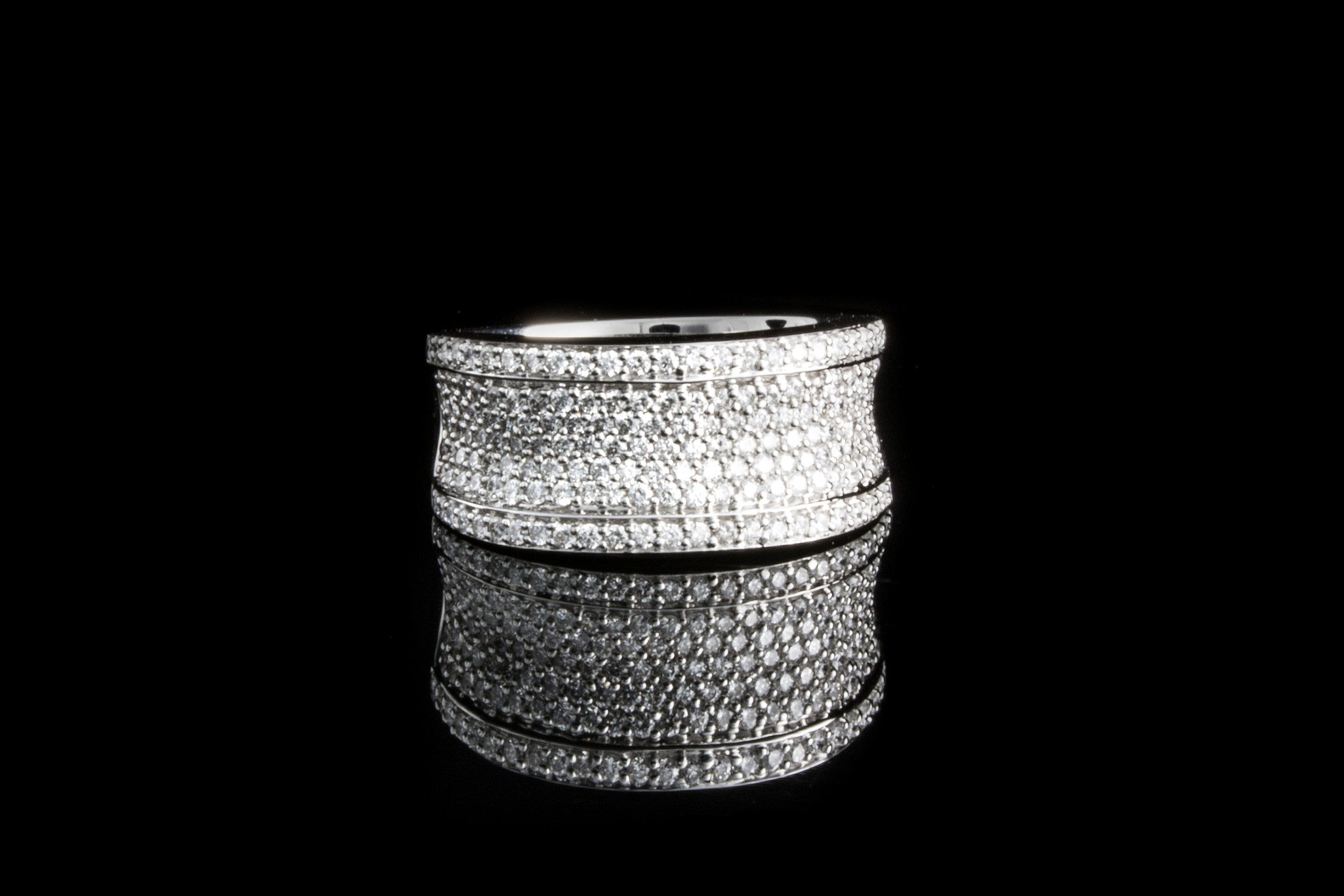 Pave Diamond Ring - Isaac Westman - 5