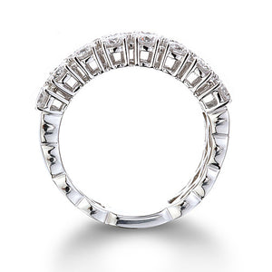 Triple Row Diamond Ring 2.45Ct - Isaac Westman - 2