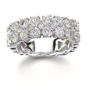 Triple Row Diamond Ring 2.45Ct - Isaac Westman - 1