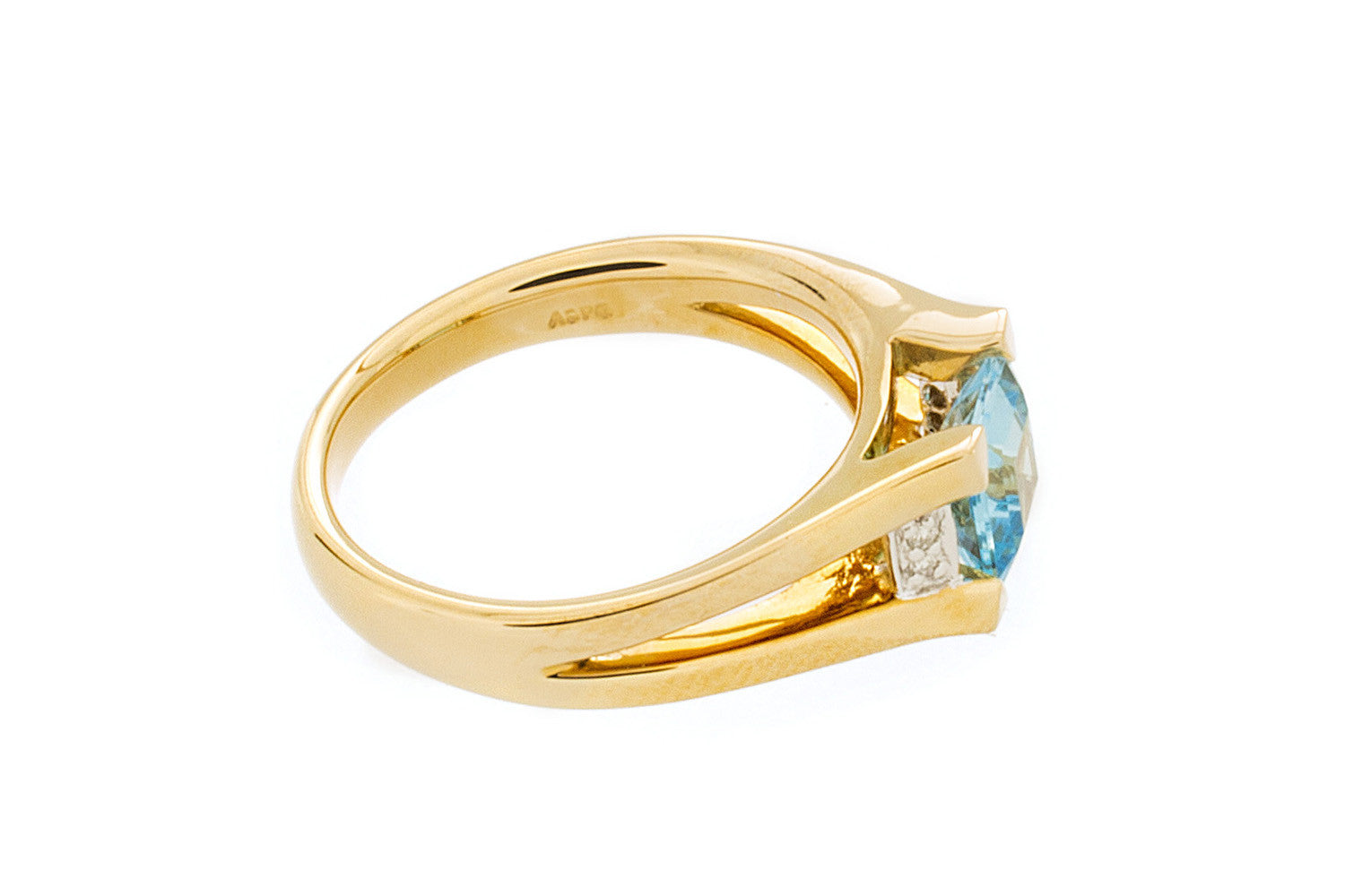 Blue Topaz Ring - Isaac Westman - 2