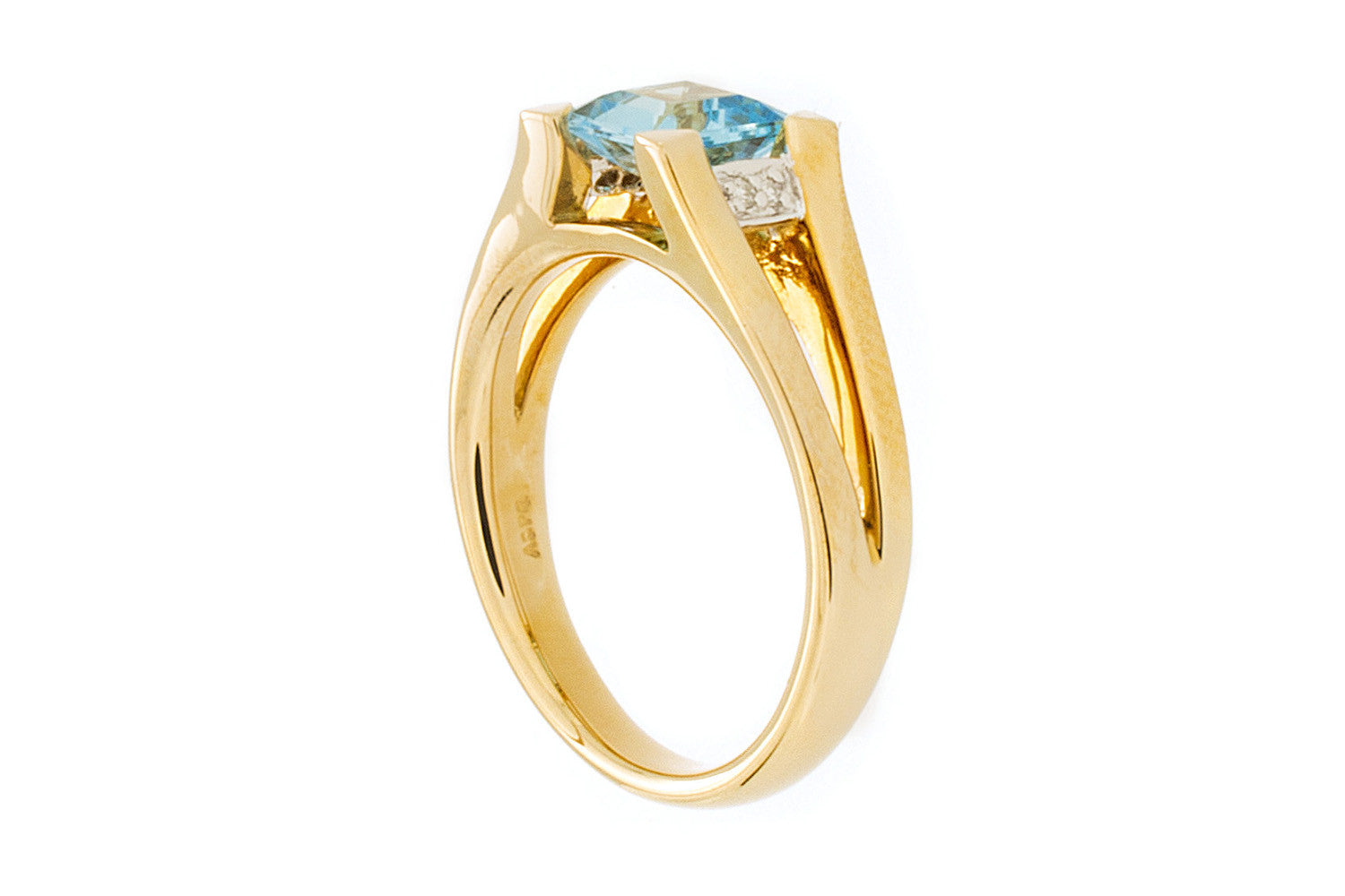 Blue Topaz Ring - Isaac Westman - 3