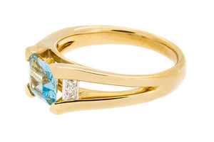 Blue Topaz Ring - Isaac Westman - 5
