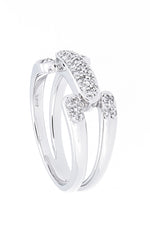 Pave Diamond Ring - Isaac Westman - 3