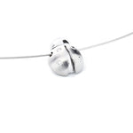 ladybug pendant jewelry 14k white gold diamonds