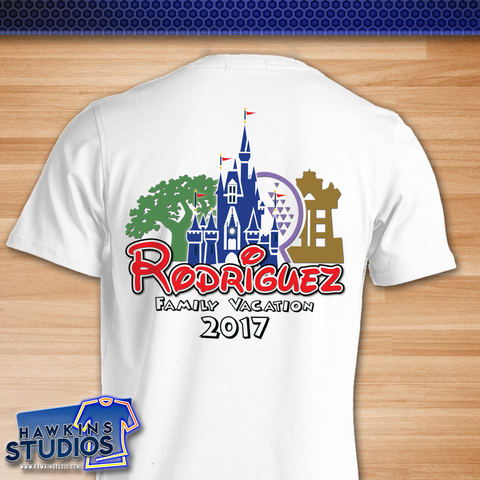 Disney Family WDW Orlando Vacation T Shirts