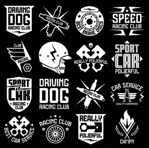 Custom Vinyl Decals For T Shirt Printing Custom Vinyl Decals - Graphic design custom vinyl stickers