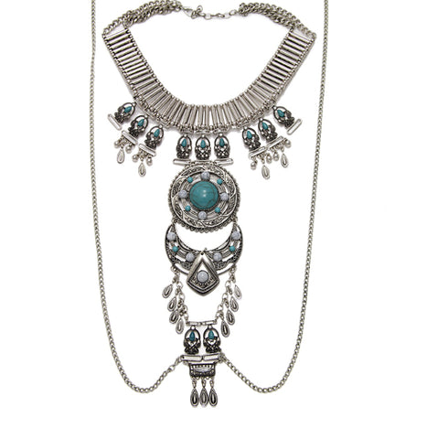 Navajo Tribal Body Chain Necklace