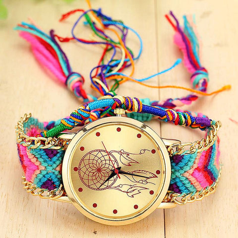 Boho Dreamcatcher Watch