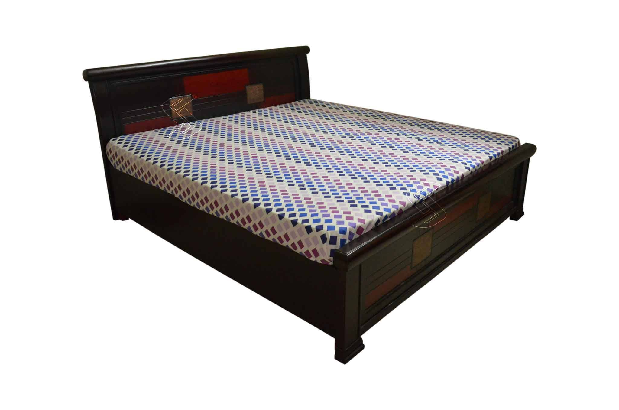Picture of: Plezan King Bed With Storage Beds Online In Hyderabad Sanfurn