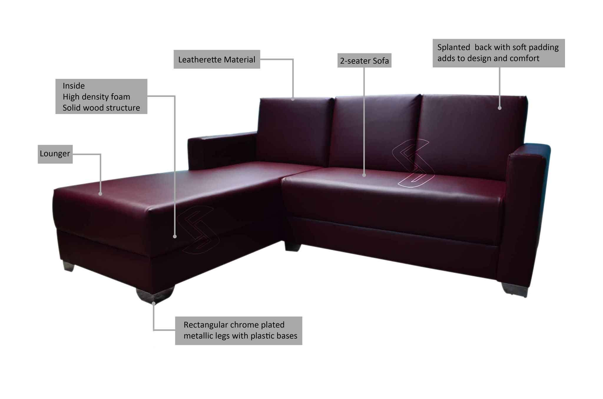 Maroon Sofa Sets