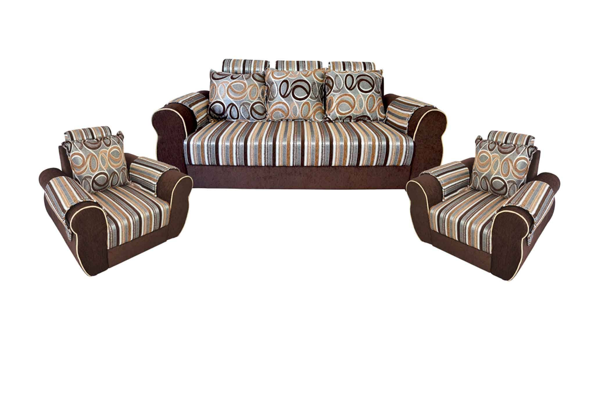 Fine Faroe Fabric 3 1 1 Sofa Set Brown Ibusinesslaw Wood Chair Design Ideas Ibusinesslaworg