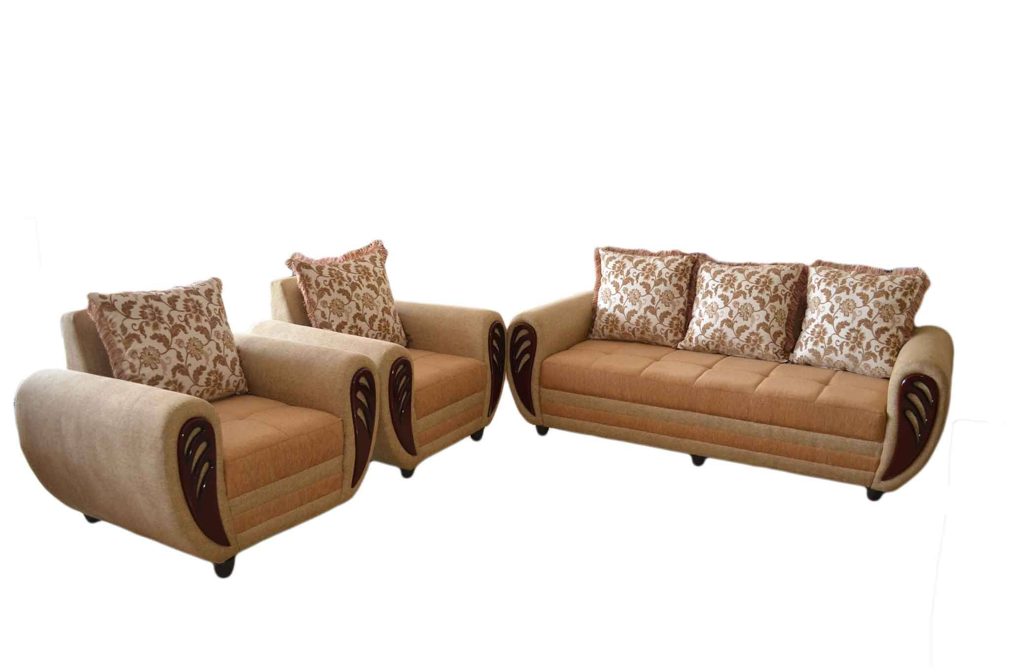 Kessna sofa set beige sofa sets online in hyderabad for Sofa set with settee