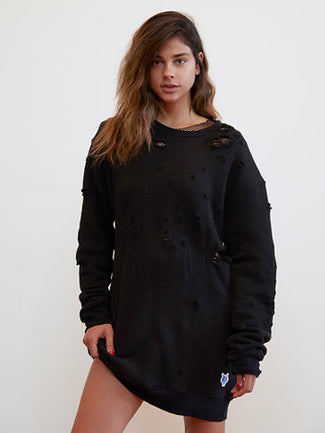 Champion Wolf Sweatshirt Dress