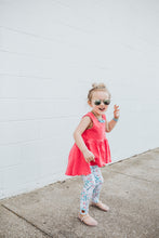 Cherry blossom leggings - high quality handmade kids clothes - Brooklynn & Grey