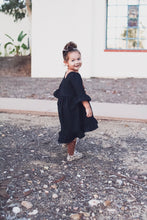 Black Hi/Low Dress - high quality handmade kids clothes - Brooklynn & Grey