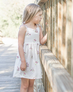 Kate- Itsy bitsy floral - high quality handmade kids clothes - Brooklynn & Grey