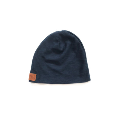 RTS Navy slouch beanie - high quality handmade kids clothes - Brooklynn & Grey