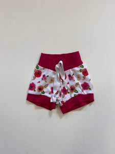 RTS pink floral Shorties
