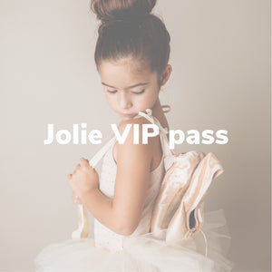 Jolie VIP Pass - high quality handmade kids clothes - Brooklynn & Grey