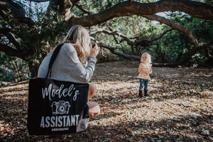 Model's Assistant Tote bag - high quality handmade kids clothes - Brooklynn & Grey