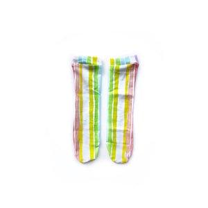 RTS Rainbow knee high socks - high quality handmade kids clothes - Brooklynn & Grey
