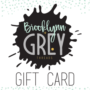 Gift Card - high quality handmade kids clothes - Brooklynn & Grey