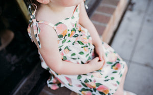 Kate - Sweet Peaches - high quality handmade kids clothes - Brooklynn & Grey